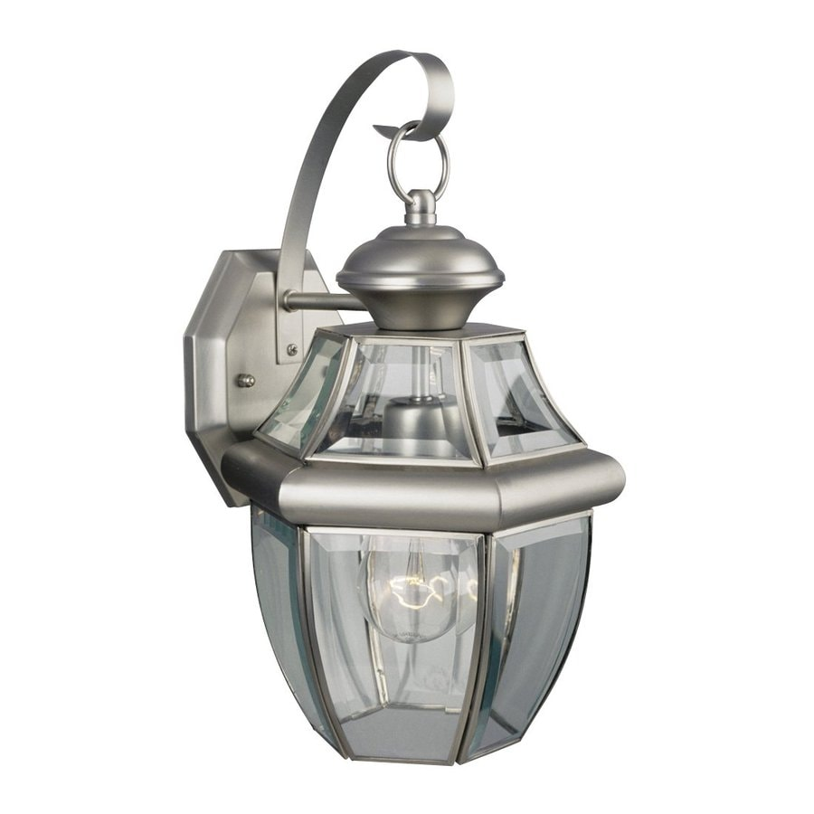 Galaxy Coach 14-in H Pewter Outdoor Wall Light