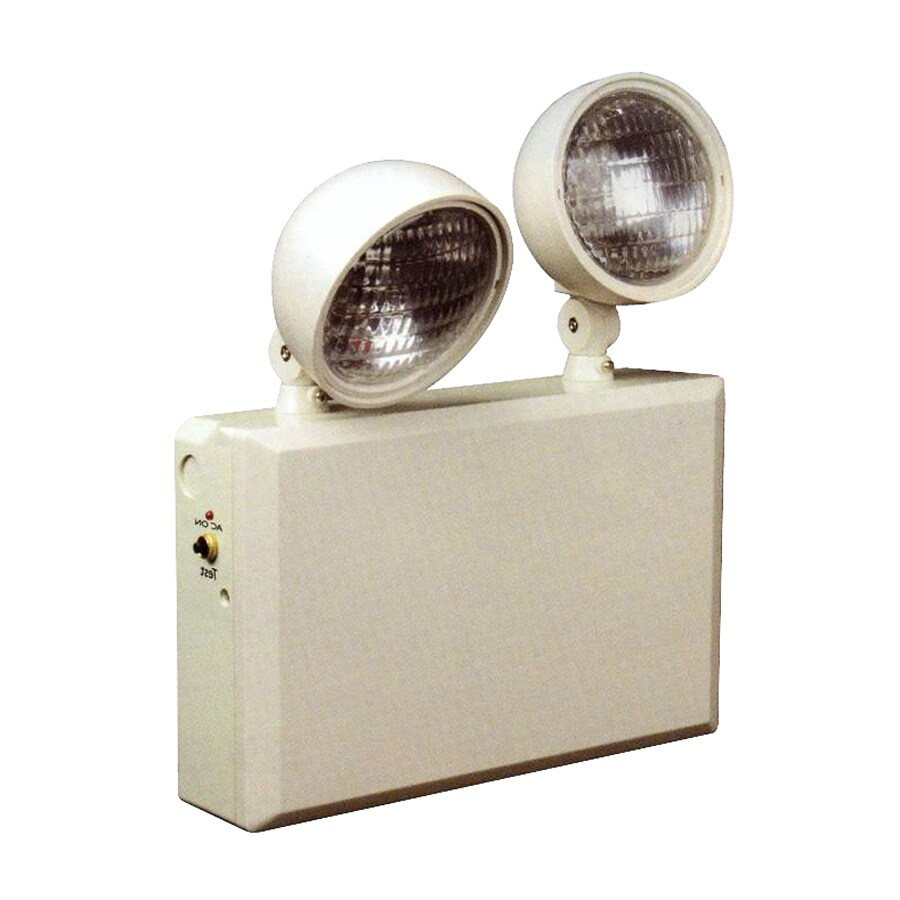 Morris Products Incandescent Hardwired Emergency Light