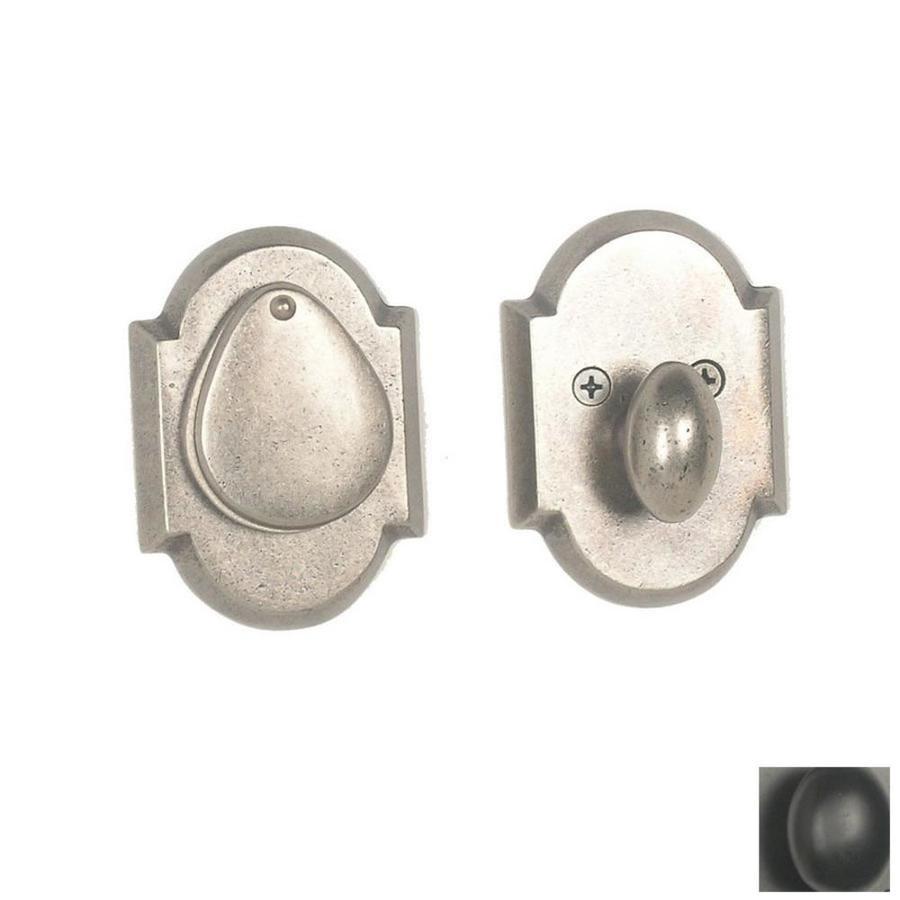 Continental Hardware Naples Dark Bronze Single-Cylinder Deadbolt