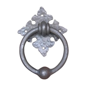 Artesano Iron Works 7-in Natural Iron Entry Door Knocker  sc 1 st  Lowe\u0027s & Shop Entry Door Knockers at Lowes.com