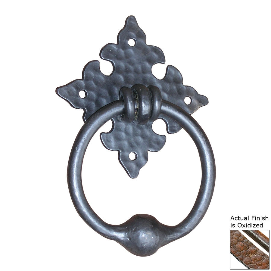 Artesano Iron Works 7-in Oxidized Entry Door Knocker