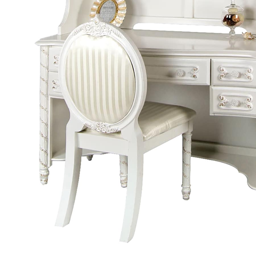 Furniture of America Alexandra 39.5-in Upholstered Kids Chair