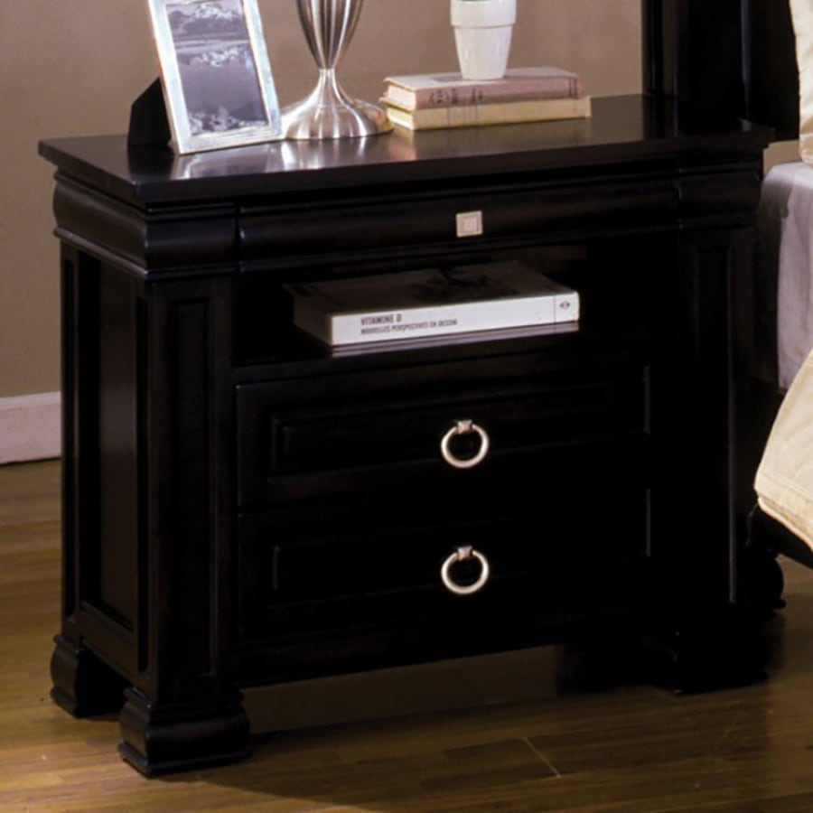 Furniture of America Cambridge Dark Espresso Nightstand
