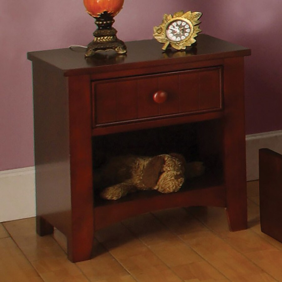 Furniture of America Omnus Oak Composite Nightstand