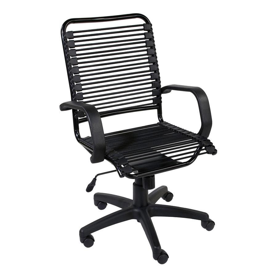 Eurostyle Bradley Bungie Graphite Black/Black Task Office Chair