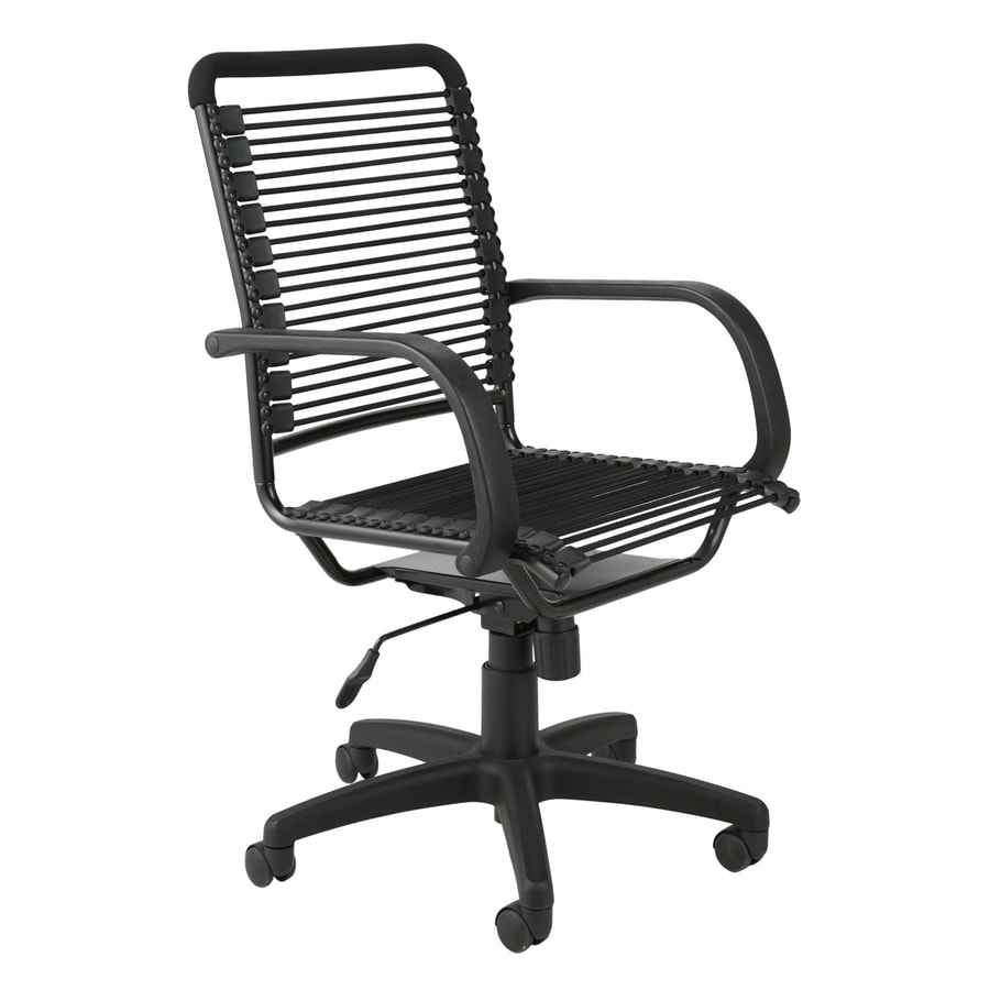 Eurostyle Bungie Graphite Black Contemporary Task Chair