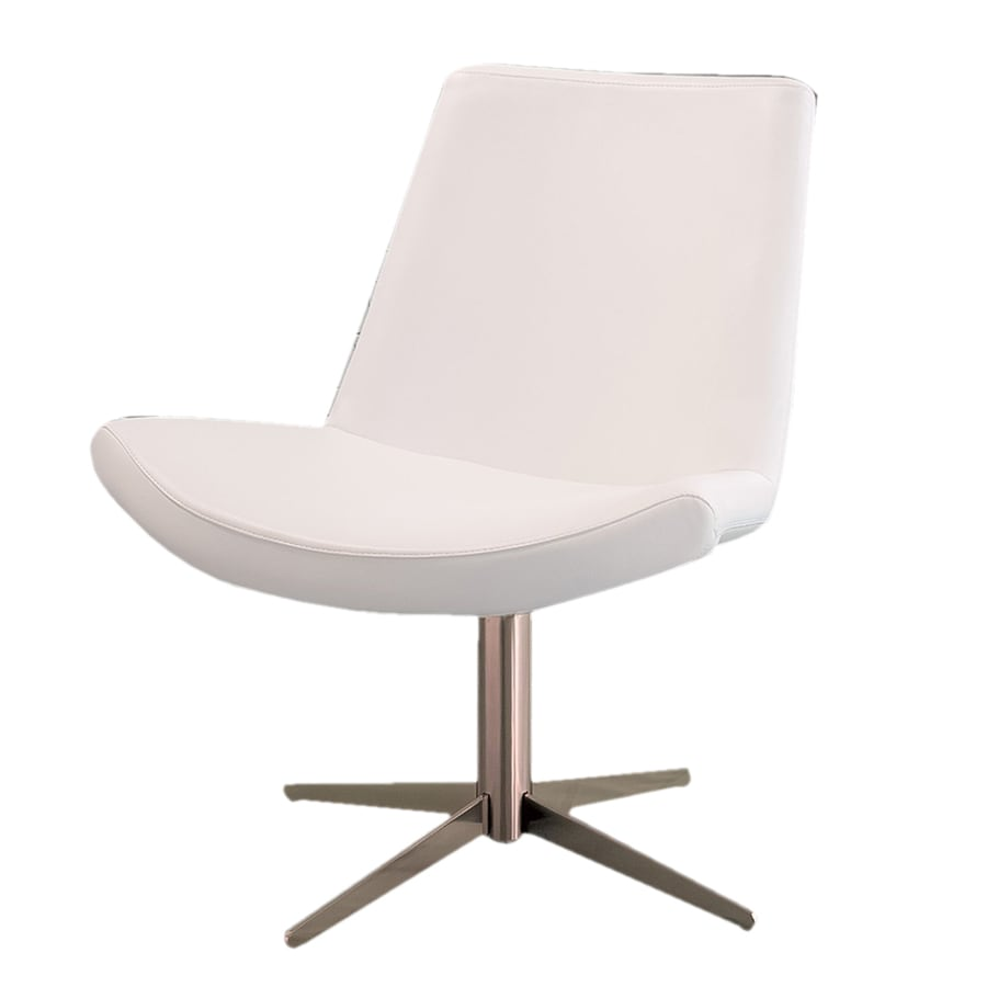 Shop best selling home decor white accent chair at for Best selling home decor products
