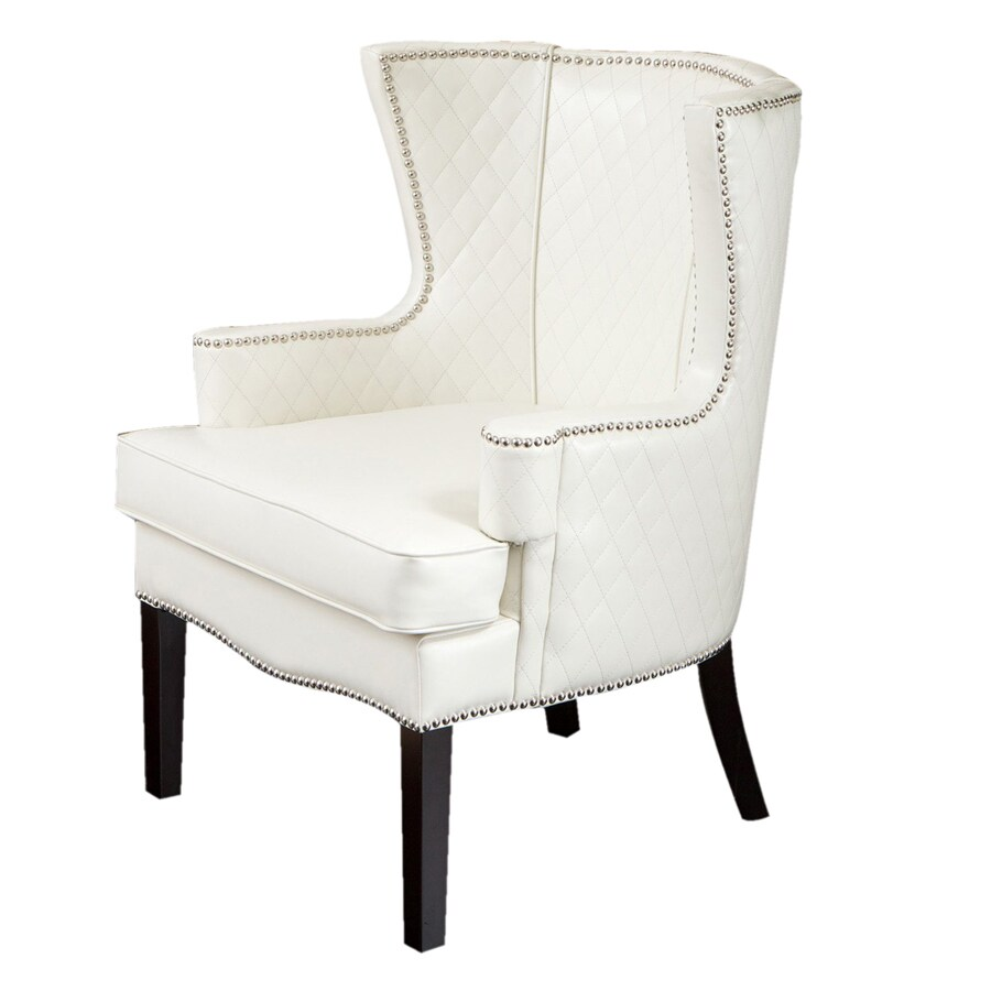 Best Selling Home Decor 1 Roma White Accent Chair