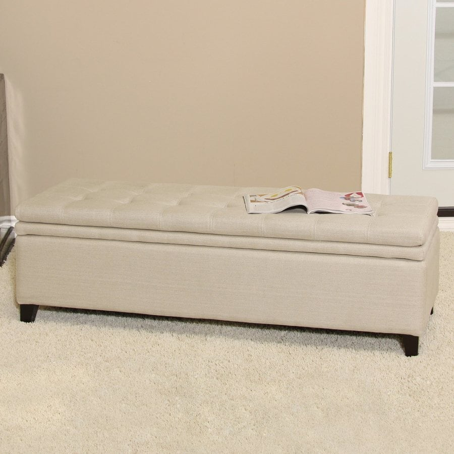 Best Selling Home Decor Brighton Sand Ottoman