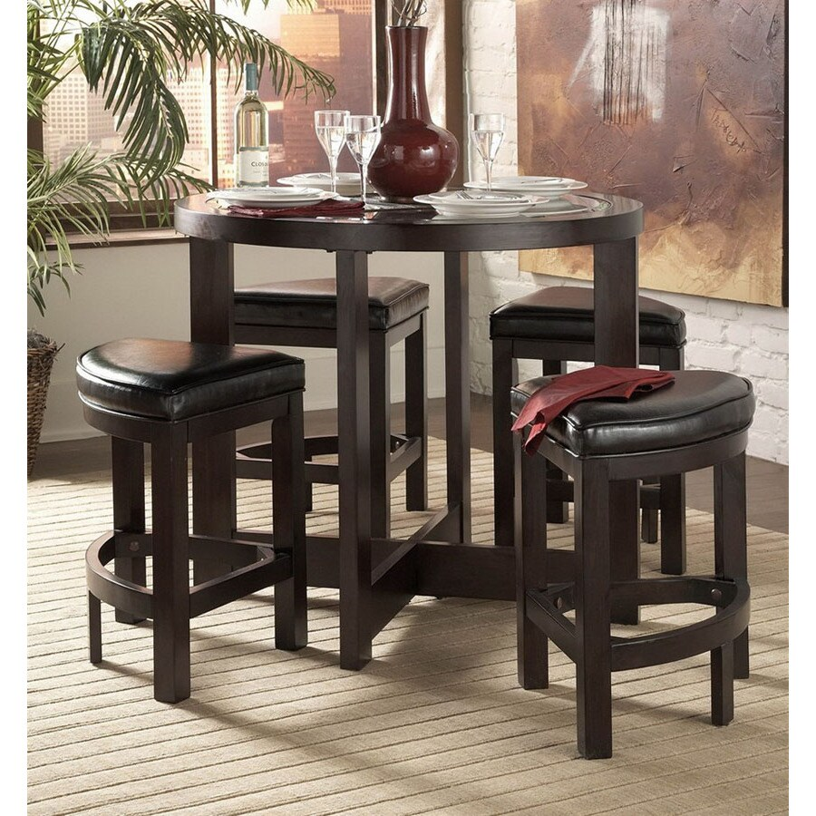 Homelegance Brussel Espresso Dining Set