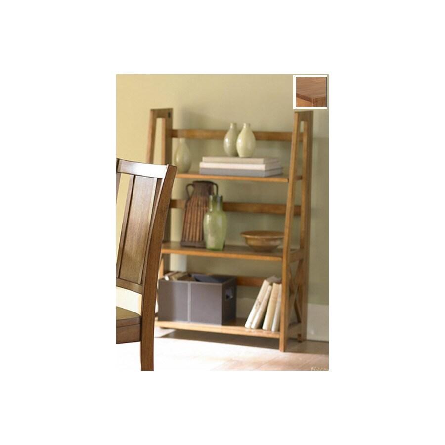 Homelegance Britanica Oak 28-in W x 42-in H x 13-in D 3-Shelf Bookcase