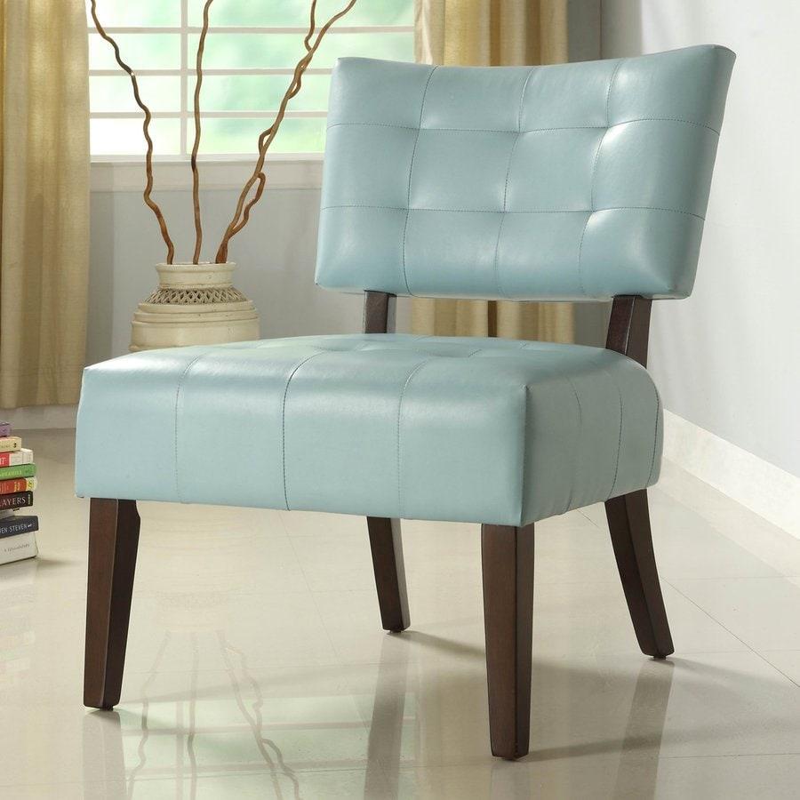 Homelegance Warner Sky Blue Accent Chair