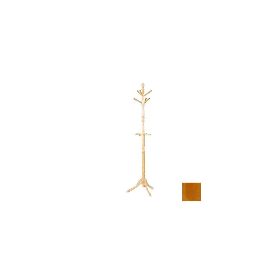 Homelegance Hall Tree Natural 10-Hook Coat Stand
