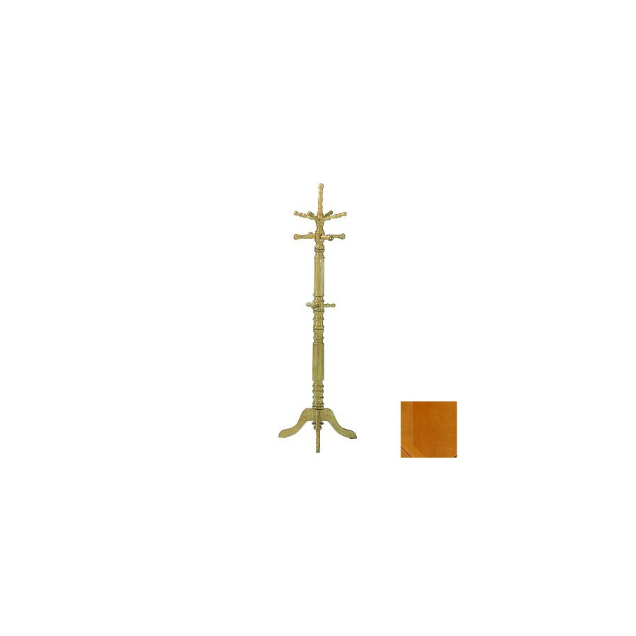 Homelegance Hall Tree Natural-Hook Coat Stand