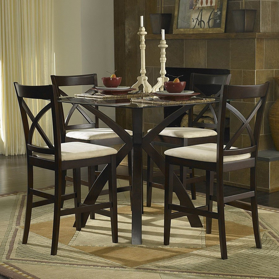 Homelegance Cantor Warm Cherry Dining Set
