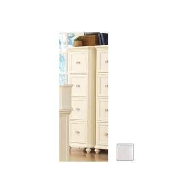 Homelegance Hanna White 4 Drawer File Cabinet At Lowes