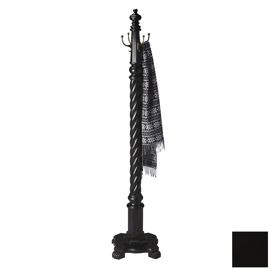 Butler Specialty Masterpiece Black Licorice 4-Hook Coat Stand