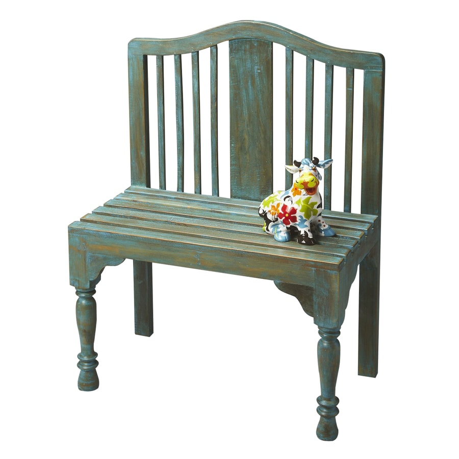Butler Specialty Heritage Whimsical Antique Indoor Entryway Bench