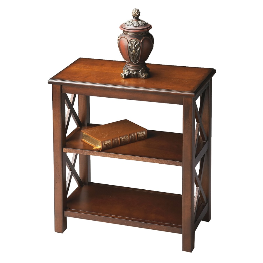 Shop Butler Specialty Plantation Cherry 2 Shelf Bookcase