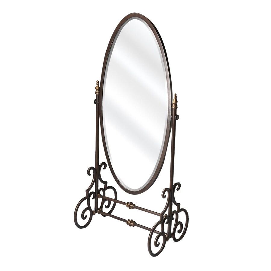 Shop Butler Specialty 60-in x 26-in Oval Floor Standing Mirror at ...