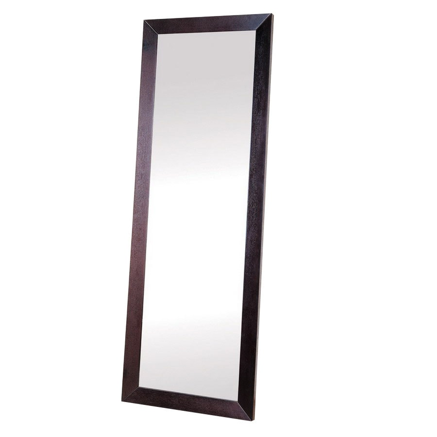 Beverly Hills Furniture 36-in x 79-in Rectangle Floor Mirror
