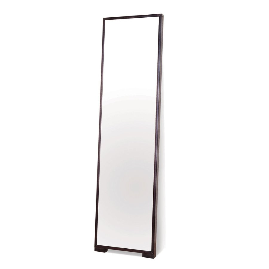 BH Design Espresso Floor Mirror