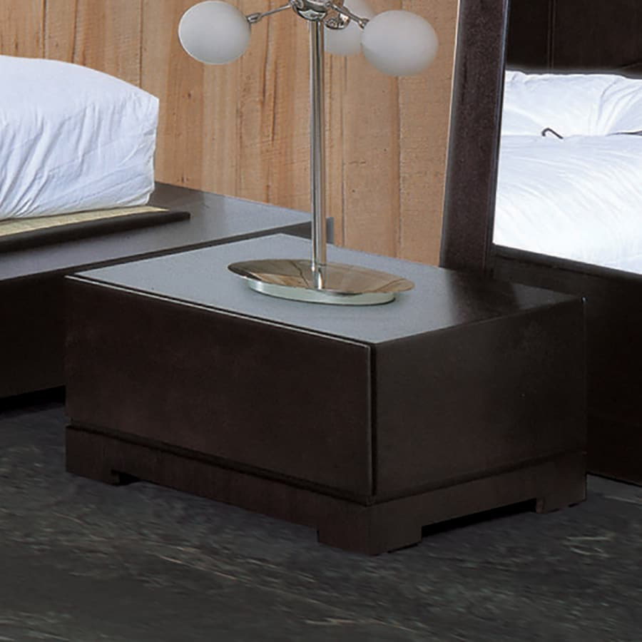 Beverly Hills Furniture Zen Espresso Nightstand