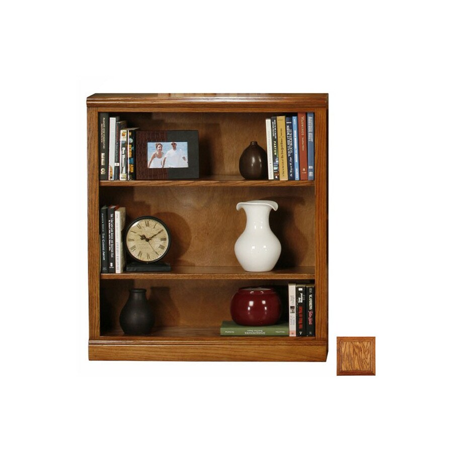 Eagle Industries Classic Oak Medium Oak 72-in 5-Shelf Bookcase