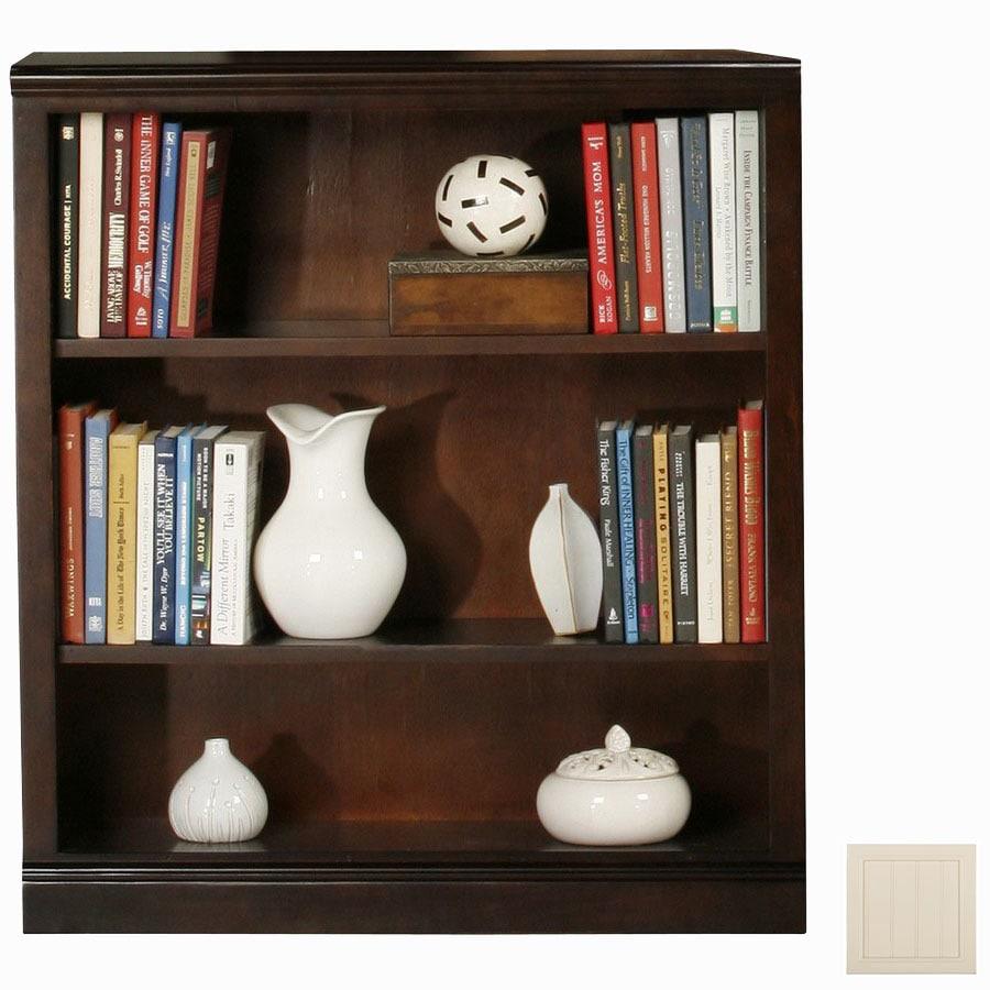 Eagle Industries Coastal Soft White 36-in 3-Shelf Bookcase