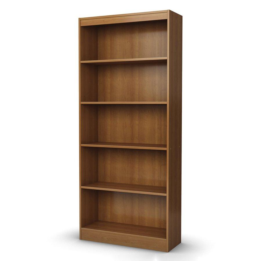 South Shore Furniture Morgan Cherry 5-ft 11.25-in 5-Shelf Bookcase