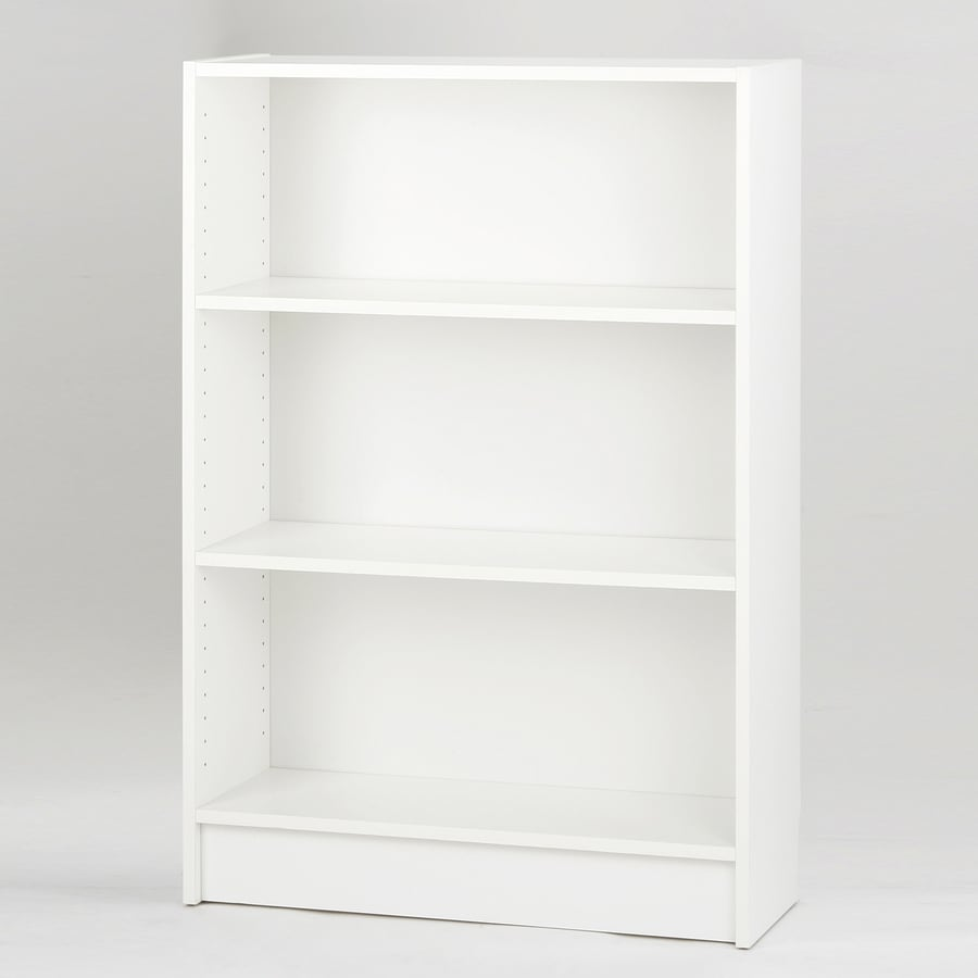 Tvilum Dylan White 45.75-in 3-Shelf Bookcase