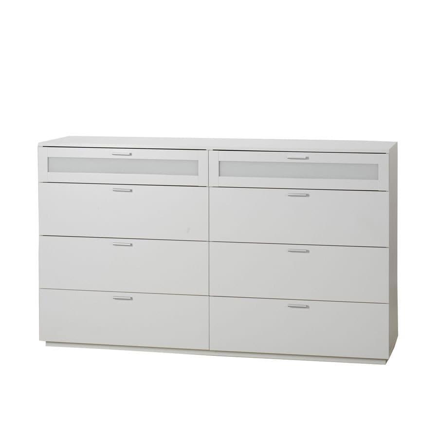 Tvilum Seattle White 8 Drawer Dresser At Lowescom