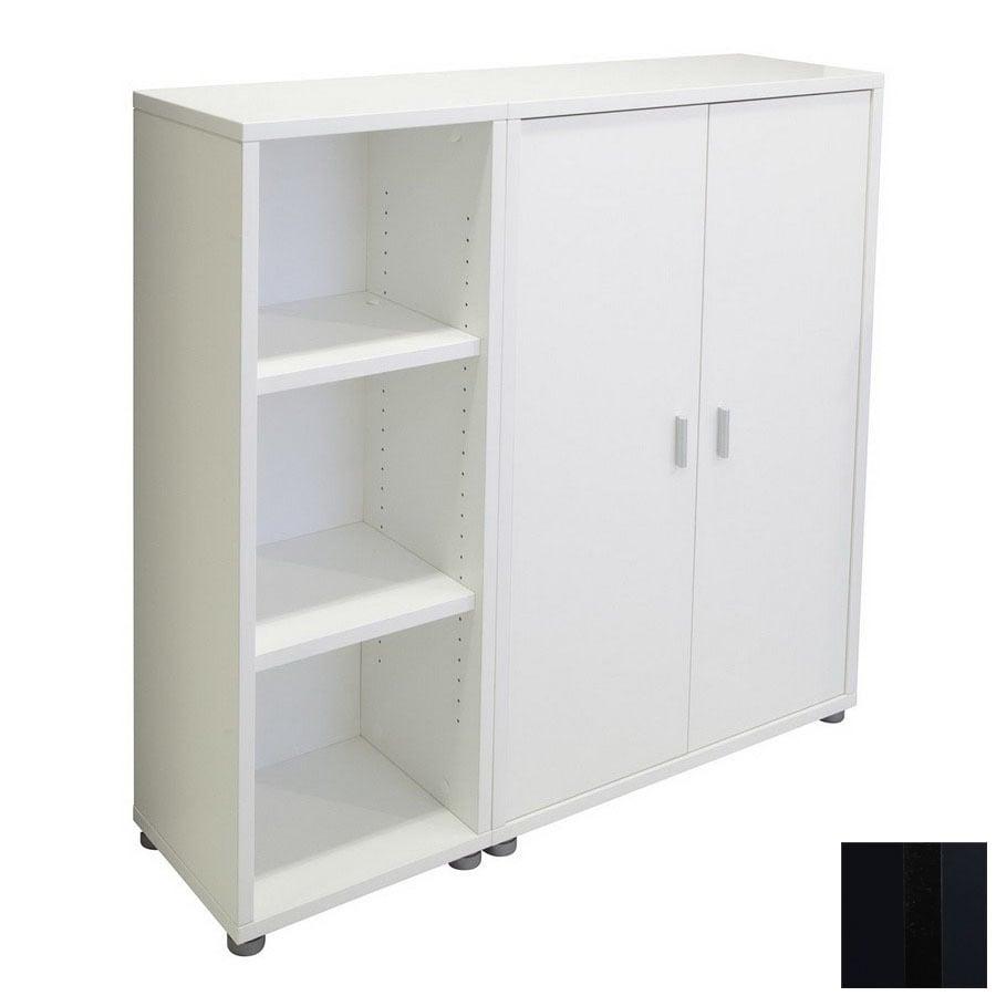 Tvilum Fairfax Black 45-in 6-Shelf Bookcase