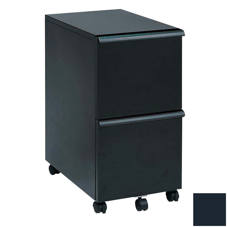 Charmant New Spec Black 2 Drawer File Cabinet