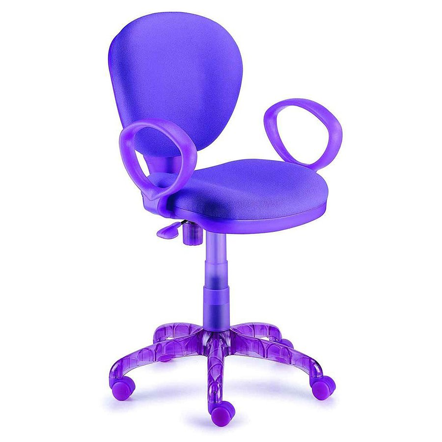 New Spec Purple Task Office Chair