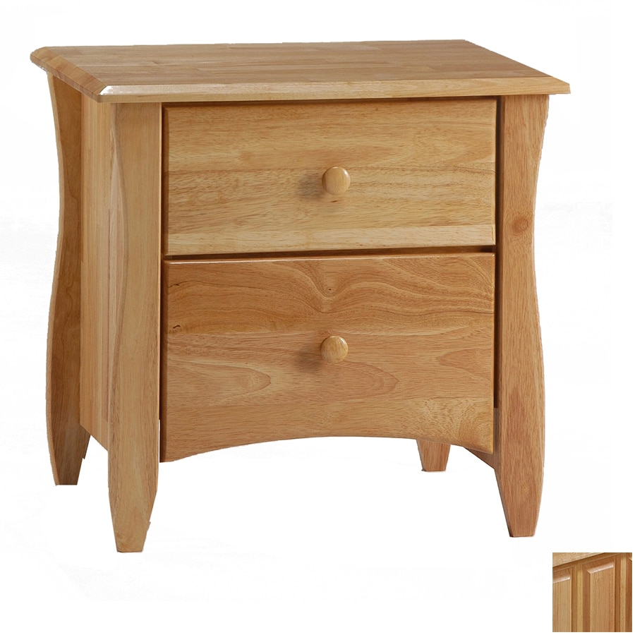 Night & Day Furniture Spices Natural Nightstand