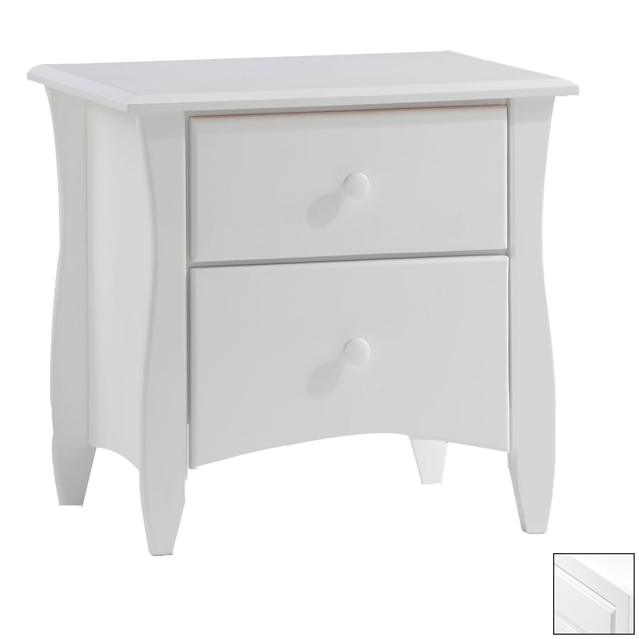 Night & Day Furniture Spices White Nightstand