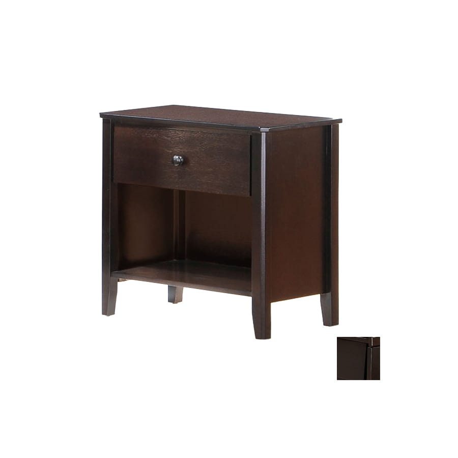Night & Day Furniture Zest Dark Chocolate Nightstand