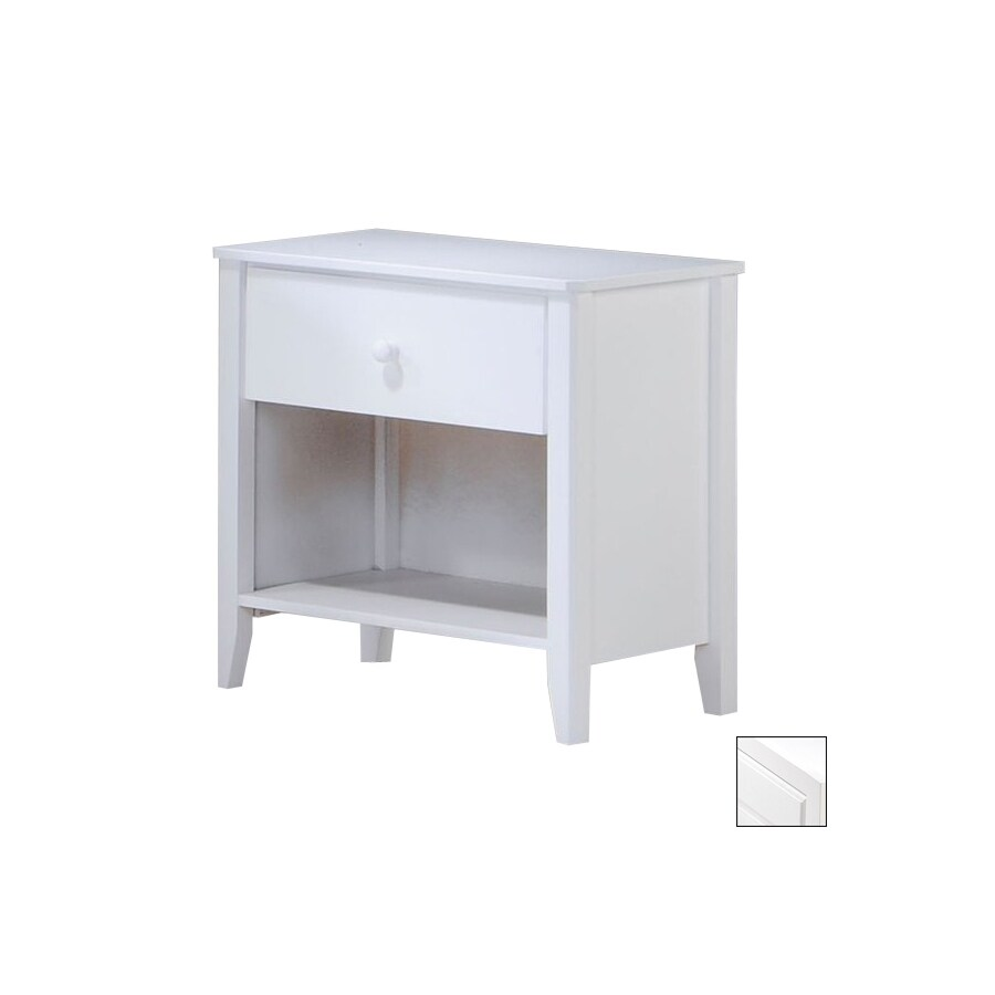Night & Day Furniture Zest White Nightstand
