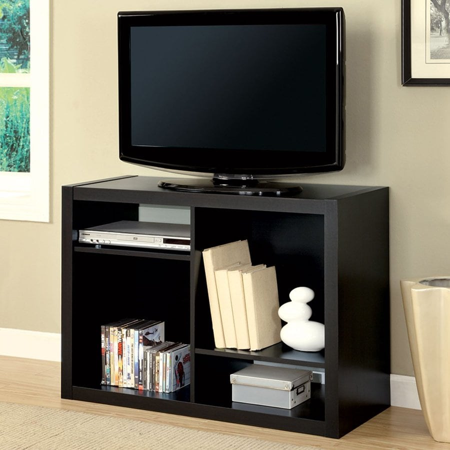 Monarch Specialties Cappuccino Rectangular TV Cabinet
