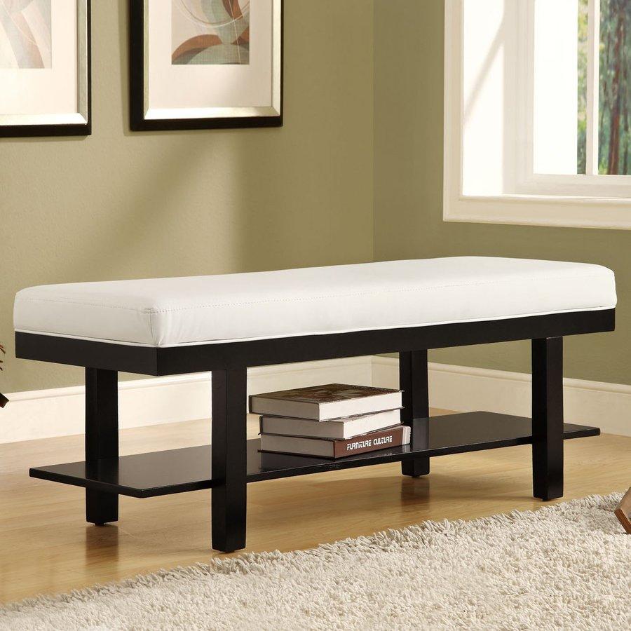 Monarch Specialties Black Indoor Accent Bench
