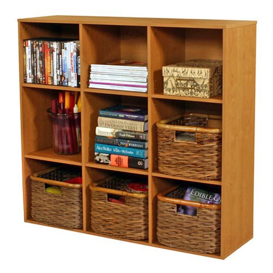 Venture Horizon Oak 9-Shelf Bookcase