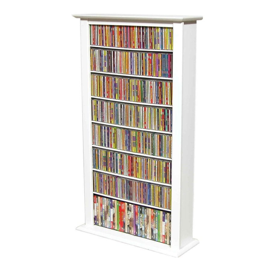 Venture Horizon White Freestanding Media Cabinet
