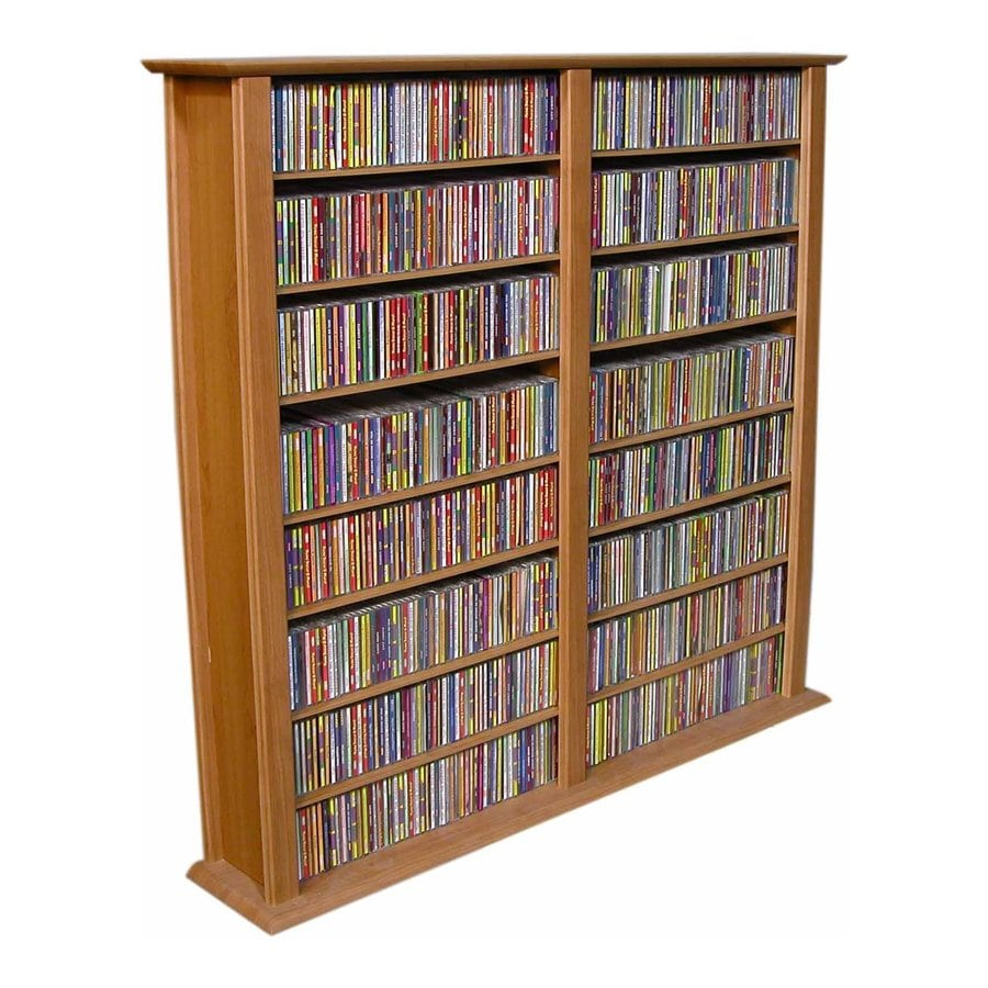 Rack-N-Cabinets Oak Gaming Storage Unit