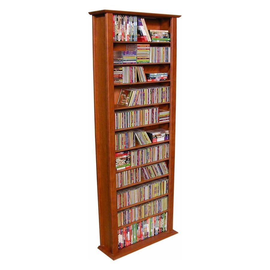 Rack-N-Cabinets Cherry Gaming Storage Unit