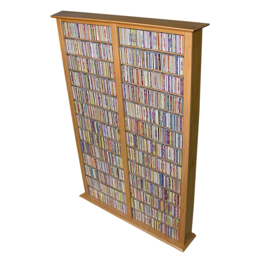 Rack-N-Cabinets Oak Gaming Storage Unit