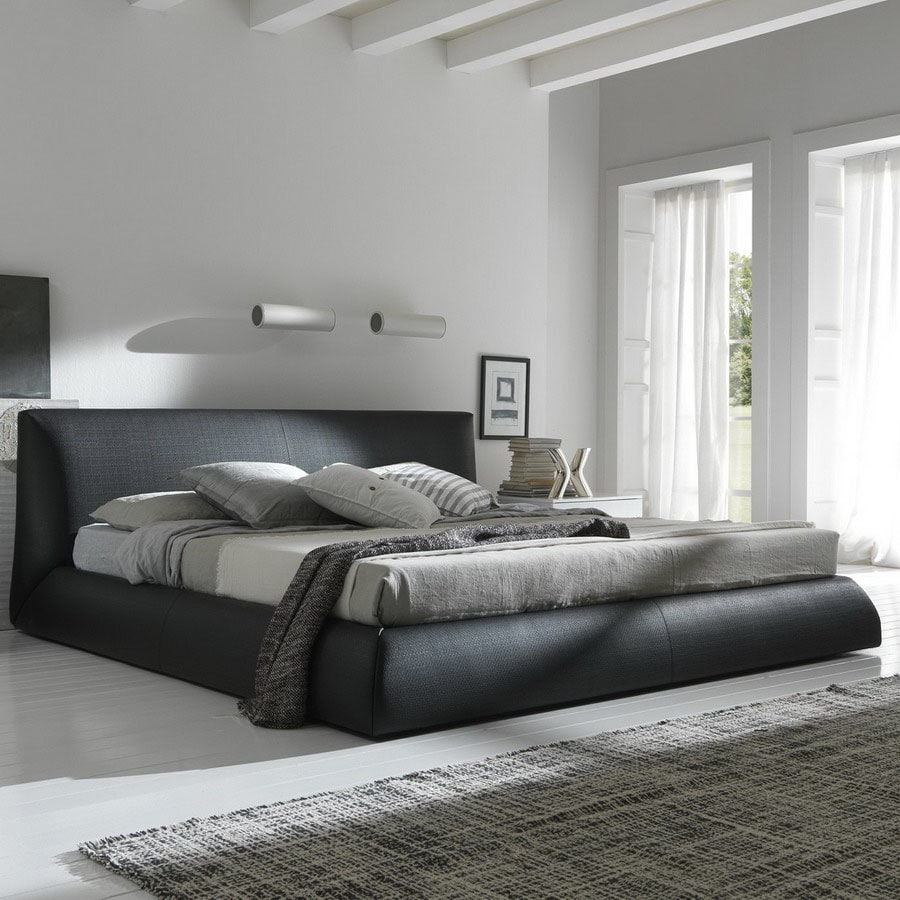 shop rossetto usa coco brown king platform bed at lowescom - rossetto usa coco brown king platform bed