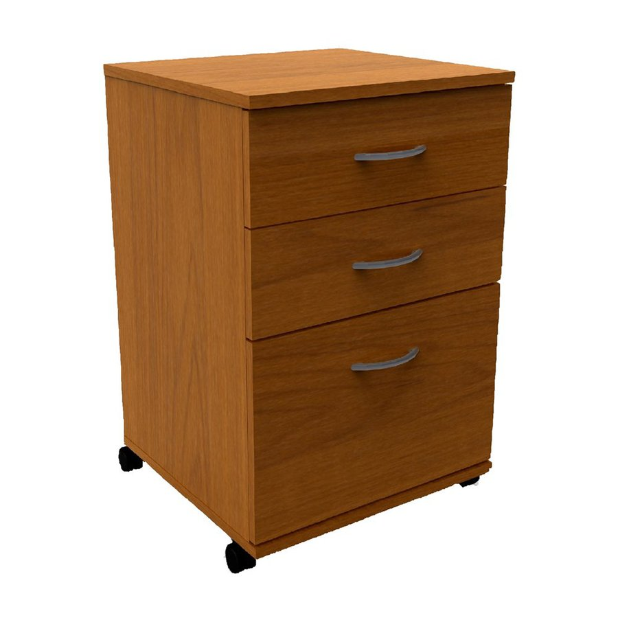 lowes filing cabinet shop nexera cappuccino 3 drawer file cabinet at lowes 22865
