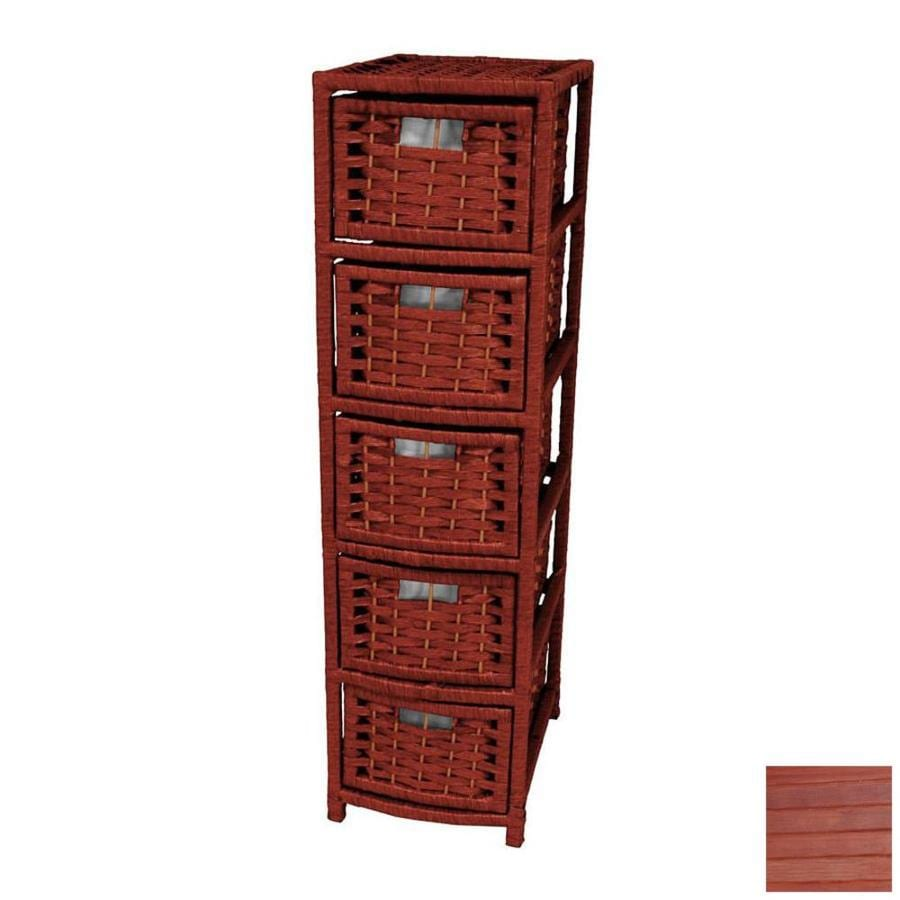 Oriental Furniture Natural Fiber Mahogany Standard Chest