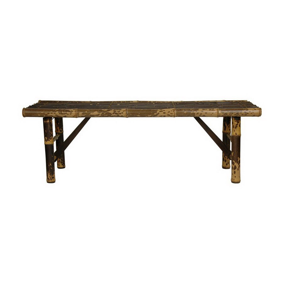 Lowes Foyer Bench : Shop oriental furniture japanese bamboo light indoor